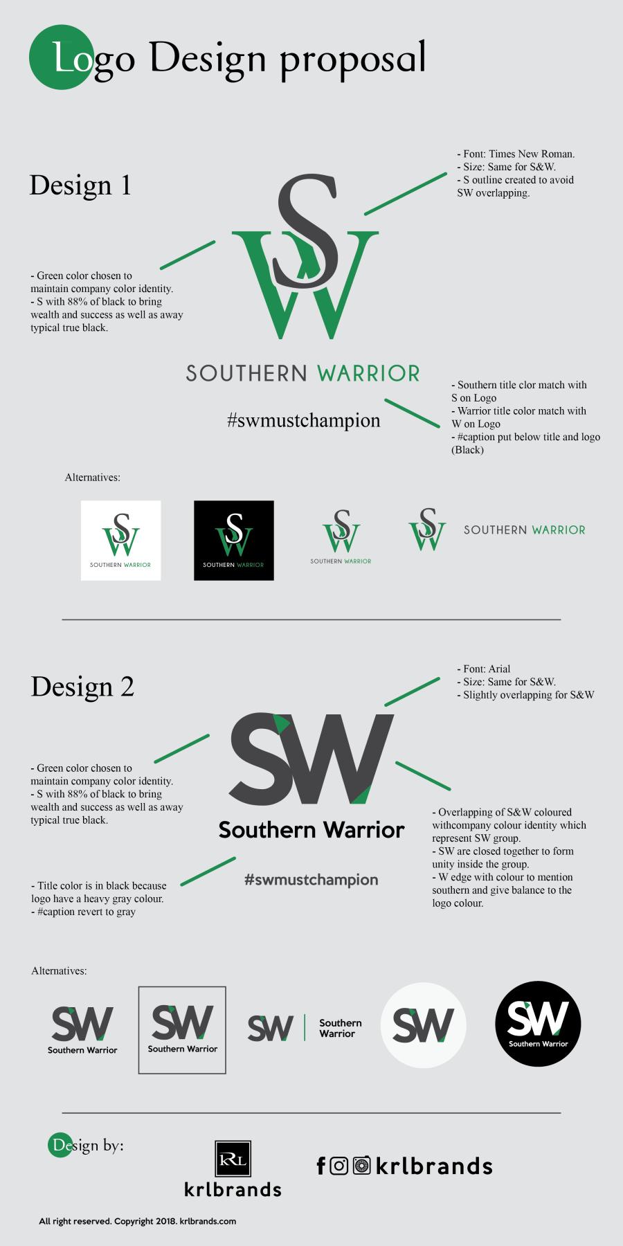 Southen Warrior Logo-01
